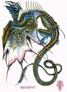Dragon Art by Raven8dragon