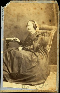 Mrs Taylor Photographer: Thomas Tuffin, Wanganui Reference No: NZC14.1.85A Wanganui Portrait Collection, Wanganui District Library | Flickr - Photo Sharing!