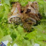 Calamari ripieni di carciofi - http://www.food4geek.it/le-ricette/secondi-piatti/pesce/calamari-ripieni-di-carciofi/