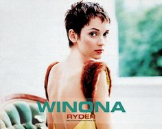 Winona Ryder - love this pixie cut!