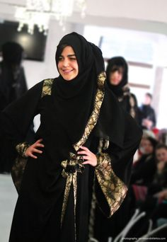 Abayas – for glamour Lace still rules! | Nspired Style, Exclusive Abayas, Abayas, Lace Abayas