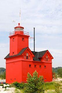 Holland Harbor Lighthouse-Big Red