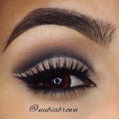 nubiabrown #cosmetics #makeup #eye