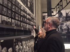 Visiting Yad Vashem, World Holocaust Center in Jerusalem.