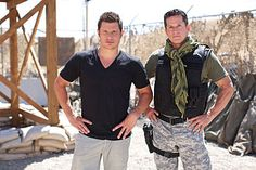 Nick Lachey and Tom Stroup