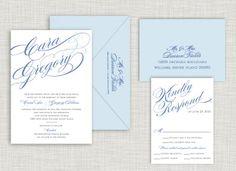 Grace Wedding Suite SHP+P Weddings @ www.saraheilwagen.com #weddinginvitation #wedding #invitation