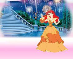 orange Disney Princess Fashion, Disney Princess Dresses, Disney Style, Disney Fashion, Disney Princesses, Disney Cartoons, Disney Movies, Disney Characters, Disney Little Mermaids