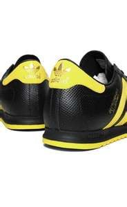 promo code 0fc9e b1391 adidas beckenbauer shoes black yellow