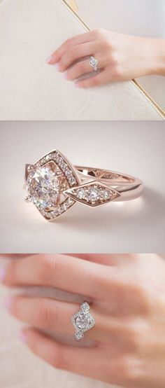 25 Best Swarovski Engagement Rings Images On Pinterest Swarovski