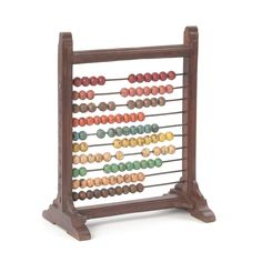 Whether you're a counter or a creative type, there's a space at your desk for this mini wooden abacus. Distressed paint colors on the beads make it look like a well-loved heirloom.  Find the Rustic Desktop Abacus, as seen in the Industrial Chic Collection at http://dotandbo.com/collections/industrial-chic?utm_source=pinterest&utm_medium=organic&db_sku=90329