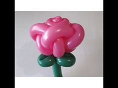 Rose bud of two balloons (five petals) - twisting tutorial (Subtitles) Sunday School Crafts For Kids, Fun Crafts For Kids, Ballon Flowers, Ballon Animals, Minnie Mouse Balloons, Twisting Balloons, Balloons Galore, Balloon Modelling, Balloon Crafts