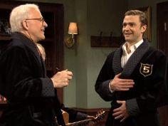 "Steve Martin and Justin Timberlake on ""Saturday Night Live"" (dreamy)"