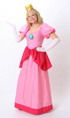 My Princess Peach/ Toadstool Costume!  sc 1 st  Pinterest & Princess Peach Costume by YourSparkleBox | Charlotte Modeling ...