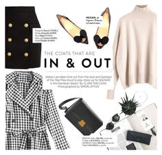 """""""In&out"""" by punnky ❤ liked on Polyvore featuring Christian Louboutin, Balmain, Haute Hippie and Kershaw"""
