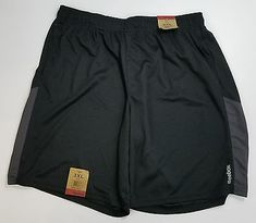 Reebok Mens Shorts Moisture Wicking Athletic Activewear Running Workout (A9-100)