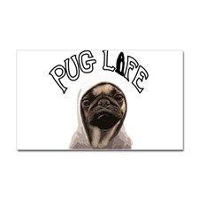Pug Life Sticker (Rectangle)