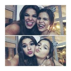 Bruna and her sister Luana♡