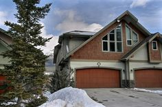 169 B Morris Canmore Real Estate Homesteads Half Duplex Homesteads, Garage Doors, Real Estate, Cabin, House Styles, Outdoor Decor, Home Decor, Real Estates, Decoration Home