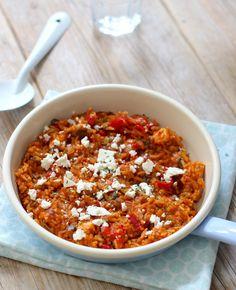 Wil je vanavond graag een lekkere maar snelle maaltijd klaarmaken? Deze griekse tomatenrijst heb je in een mum van tijd op tafel staan. Lekker met kip en feta! Griekse tomatenrijst met feta Dit heb je nodig Voor 2 personen 150…