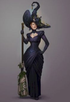 """Magick Wicca Witch Witchcraft: """"Petra Ioffe, the Supreme by Sedeptra, at deviantART. Witch Costumes, Hallowen Costume, Vintage Witch Costume, Witches Costumes For Women, Witch Cosplay, Costume Ideas, Halloween Witch Decorations, Halloween Kostüm, Fantasias Halloween"""