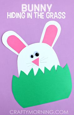 paper-bunny-hiding-in-the-grass-easter-kids-craft.png (400×623)