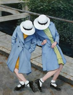 SOLE SISTERS, by Fred Calleri (b1964 Towson, MD; since 2001 based In Flagstaff, AZ)