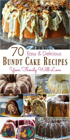 Delicious Bundt Cake Recipes Your Family Will Love 70 Easy amp; Delicious Bundt Cake Recipes Your Family Will Easy amp; Delicious Bundt Cake Recipes Your Family Will Love Appetizer Recipes, Snack Recipes, Dessert Recipes, Appetizer Dessert, Snacks, Easy Recipes, Vegetarian Recipes, Healthy Recipes, Bunt Cakes