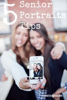 5 Senior Portraits Tips via Click it Up a Notch - useful tips for staffs when taking profile pics, as well.