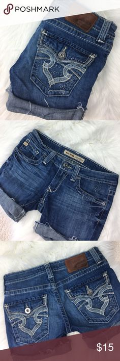 Big Star Denim Cutoffs Big Star Denim Cutoffs Size 27 Big Star Shorts Jean Shorts