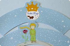 Festa Pronta -Pequeno Príncipe - Tuty - Arte & Mimos www.tuty.com.br #festa #personalizada #party #bday #birthday #tuty #cha de #bebe #coroa #pequeno #principe