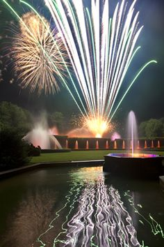 Fireworks and Fountains at Longwood Gardens