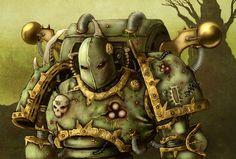 Thuropsis, Warlock of Nurgle by Graphite-Dream on deviantART