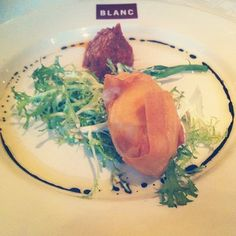 """by @samanthap22 """"Goats cheese parcel #brasserieblanc"""""""