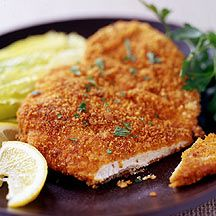 Weight Watchers Oven Fried Chicken  5 points, 14 minutes to make.