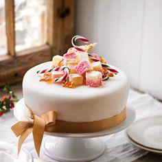 Martha Collison's sweetie Christmas cake