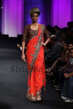 Vikram Phadnis at Aamby Bridal Fashion Week 2012