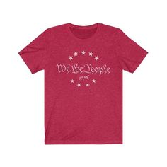 We The People - Heather Red / 2XL