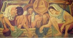 The Night of the Rich, by Diego Rivera, was completed during the Mexican Revolution in 1928 as a fresco. Diego Rivera Art, Diego Rivera Frida Kahlo, Clemente Orozco, Filipino Art, Statues, Art Station, Art Moderne, Mexican Folk Art, Detroit