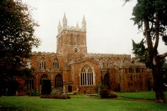 Crediton Church, Devon