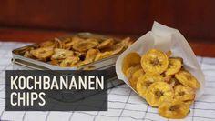 Diese Paleo Kochbananen Chips sind eine ✓knusprige ✓leckere und ✓gesunde Alternative zu herkömmlichen Chips. Mit passendem Dip unschlagbar lecker.