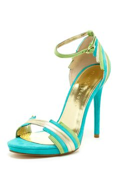 Ivanka Trump Aryella Colorblock High Heel on HauteLook