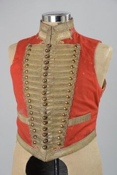 10th Royal Hussars Officer s Victorian Highly Elaborate Mess Waistcoat. XGHO