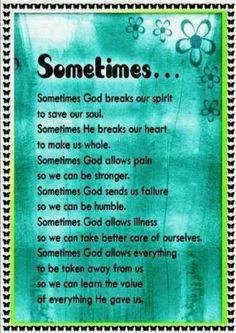 God can do