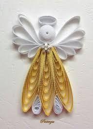 Resultado de imagen para angeles de navidad en papel