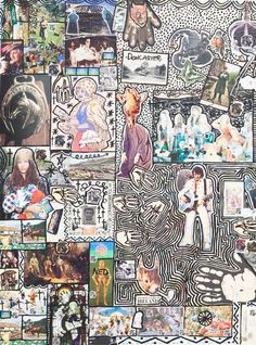 Damian Le Bas, Doncaster Gypsy II, Collages, Gypsy, It Works, Paintings, Artist, Stockings, Paint, Painting Art, Artists