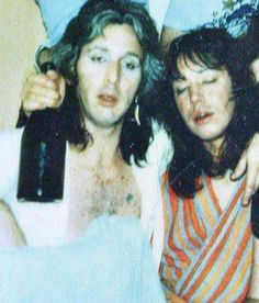 An Unmasked Peter Criss & Ace Frehley - Party Time!!!