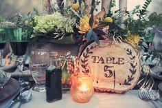 woodland fairytale wedding  |  gideon photography