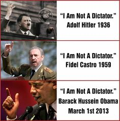 Hitler, Stalin, Castro, and Obama say the same things. Sharia Law is the War on Women.  Sharia Law is hate.  The Democratic Party still is behind Barack Obama, Joe Biden, Eric Holder, Hillary Clinton, and Sharia Law.  Hillary Clinton's and Barack Obama's Arab Spring is the most evil thing the United States has been involved with.