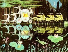 Cinderella, Errol Le Cain (one of my favorite all time illustrators!)