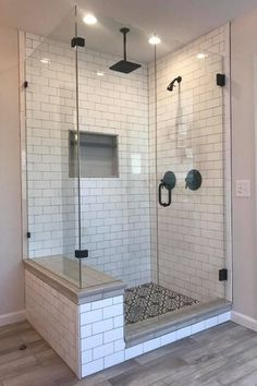 If you are looking for Master Bathroom Shower Remodel Ideas, You come to the right place. Here are the Master Bathroom Shower Remodel Ideas. Bathroom Renovation Diy, Bathroom Decor, Bathroom Remodel Master, Restroom Remodel, Shower Remodel, Bathroom Remodel Shower, Bathroom Makeover, Bathroom Renovations, Bathroom Design
